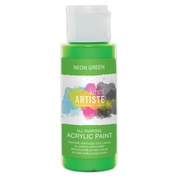 Docrafts - Artiste Acrylfarbe  -  59ml Neon Green
