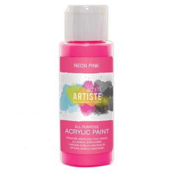 Docrafts - Artiste Acrylfarbe  -  59ml Neon Pink